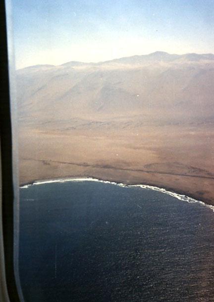 La costa chilena, entre Iquique y Arica