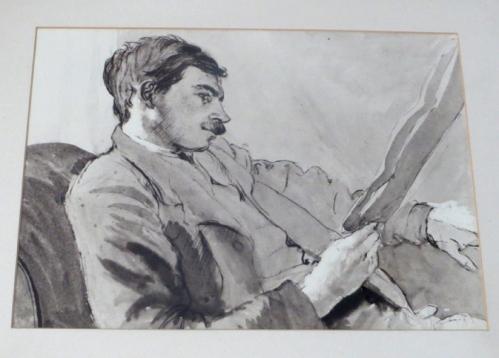 Retrato de Maynard Keynes