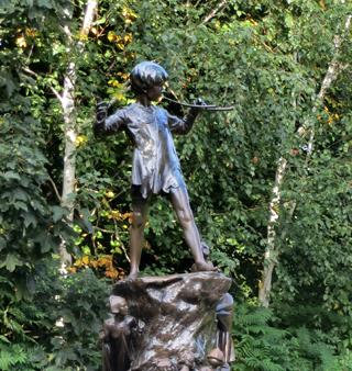 Peter Pan, Hyde Park