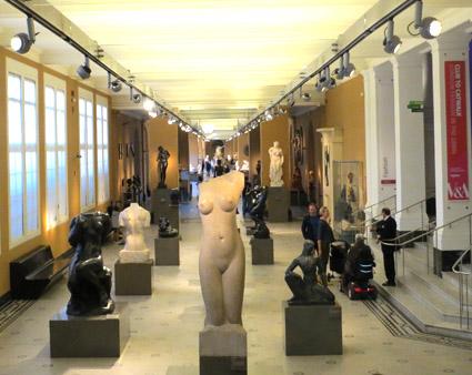 Galería de escultura, V&A
