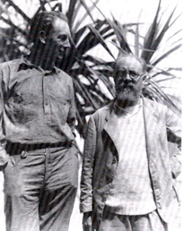 Friedrich Wilhelm Murnau and Henri Matisse, in Papeete.