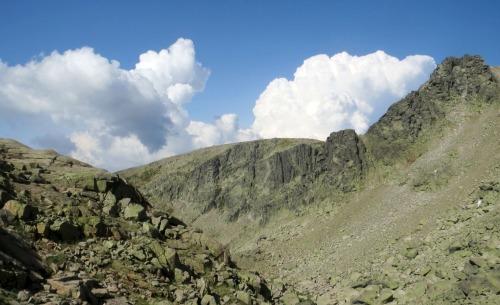 cumbres y nubes