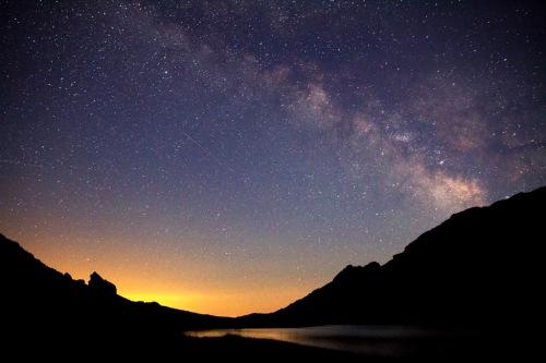 Un viaje hacia la noche. Fotografía de la Sierra de Gredos, cortesía de Javier Rodriguez Vázquez de Aldana