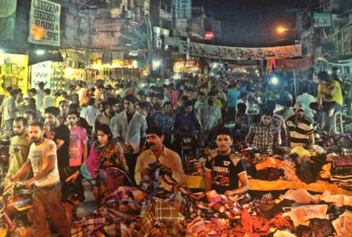 Anárkali, el gran bazar de Lahore