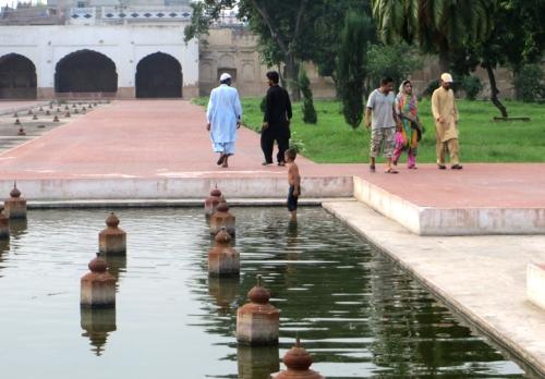 Los jardines de Shalimar, en Lahore