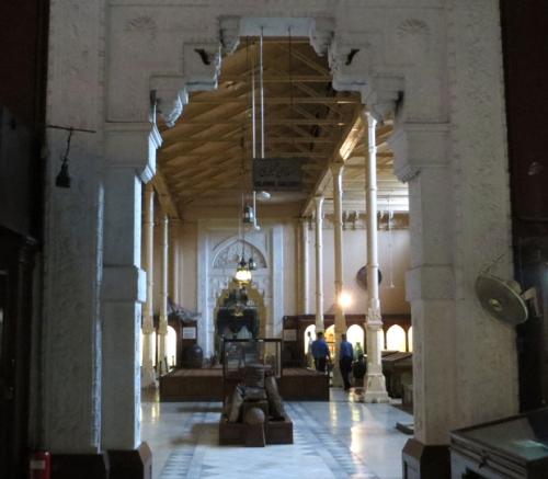 Museo de Lahore. John Lockwood Kipling fue conservador de su exposición permanente.