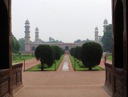 La tumba del emperador mogol Jahangir, en Lahore