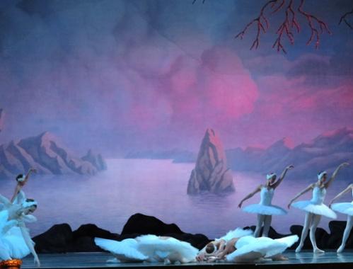 Otro saludo de los cisnes desde el misterioso lago