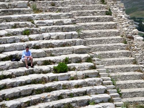 El teatro griego de Segesta