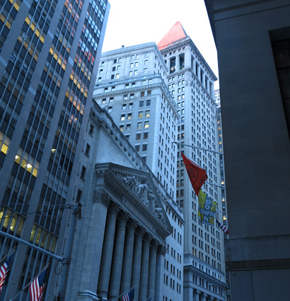 La Bolsa y el Mausoleo