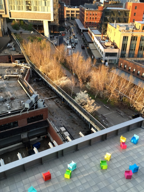 Rooftops and highline