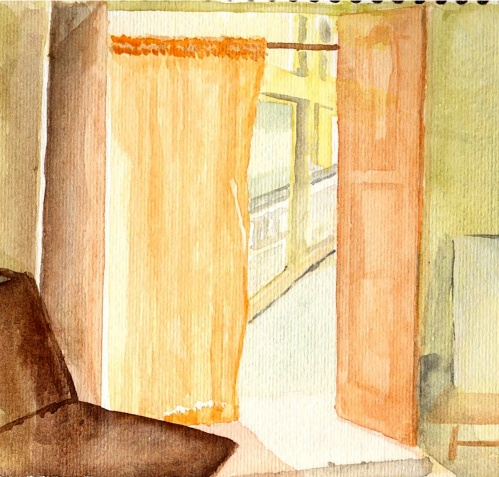 Esbozo de un interior, Ballygunge