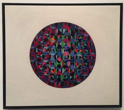 Poema Circular (una película), Elen Asins. Tinta sobre papel, ca. 1968.
